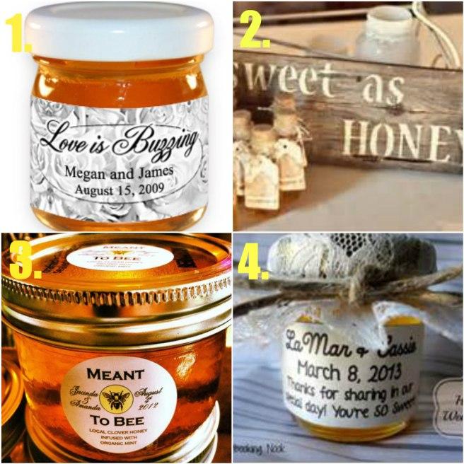 wedding honey favors