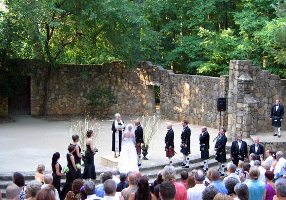 Lark hill wedding