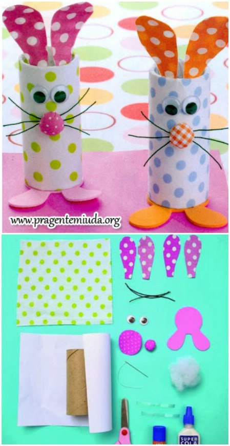 Easter-Crafts-Easter-Bunny-Toilet-Rolls