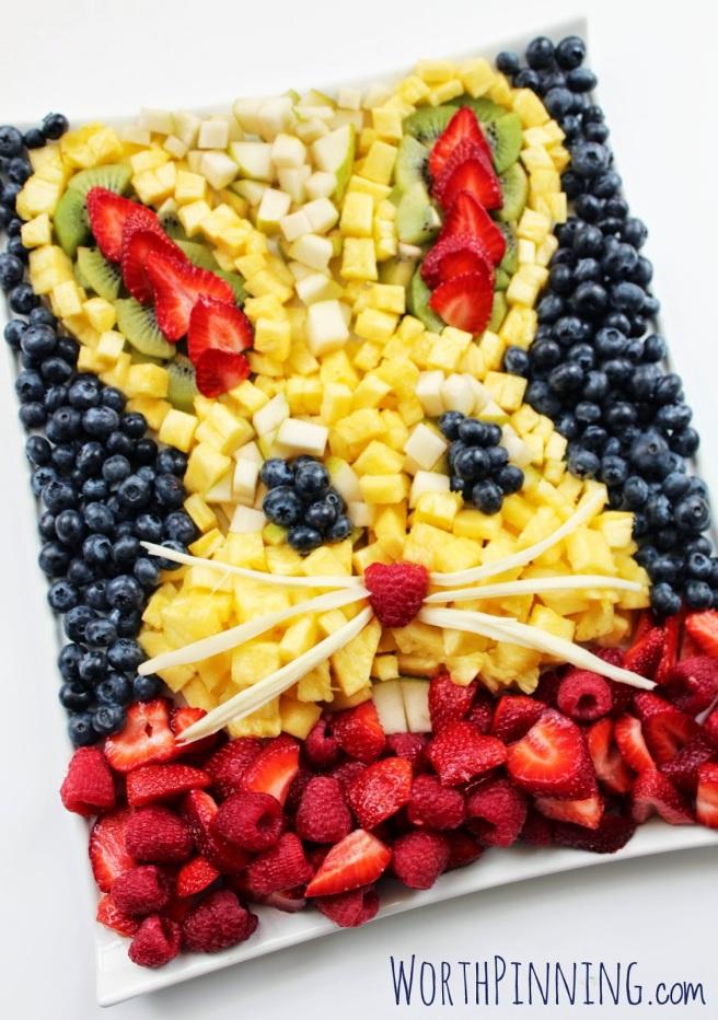 Bunny-Head-Fruit-Platter