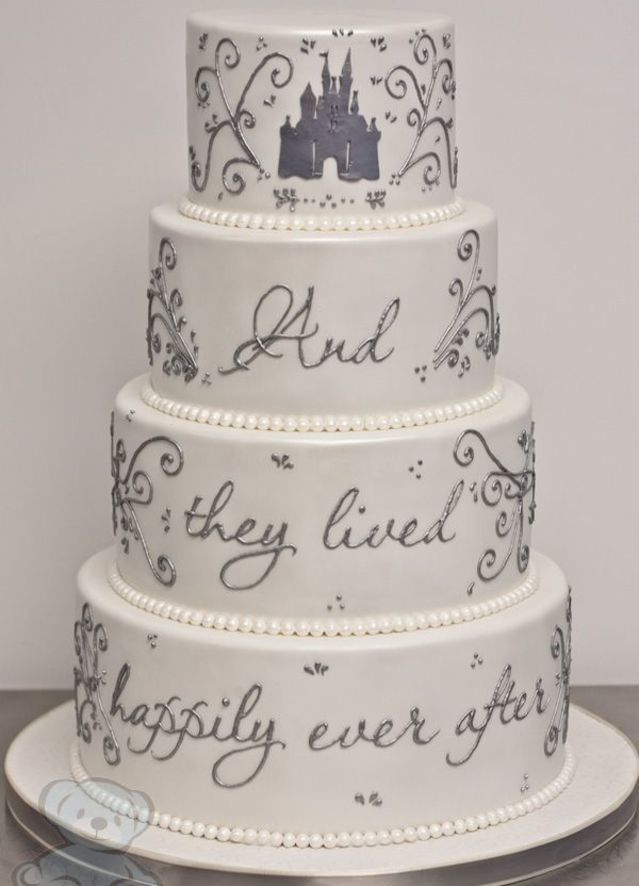 cinderella wedding cake, disney wedding cake