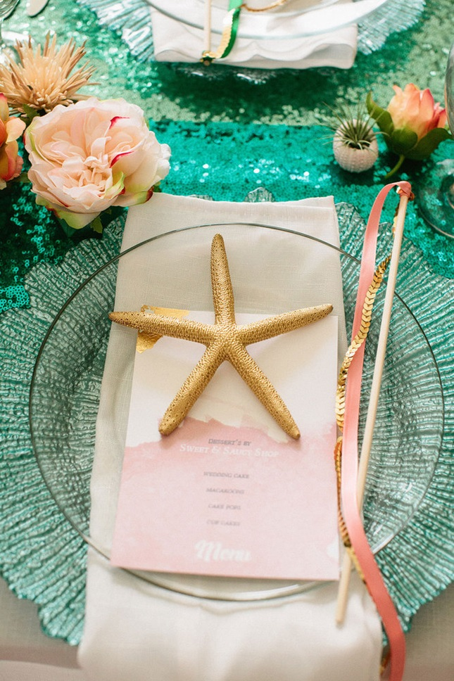 Little-Mermaid-Starfish-Place-Setting