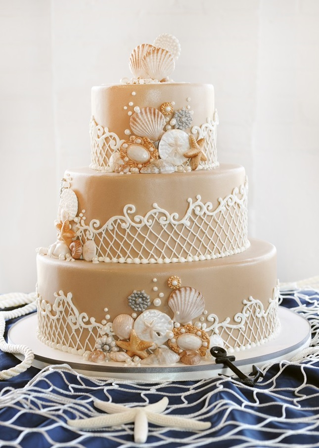 Little-Mermaid-Wedding-Cake