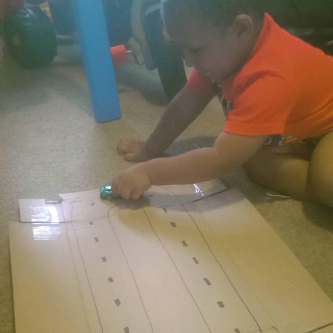 DIY race car track