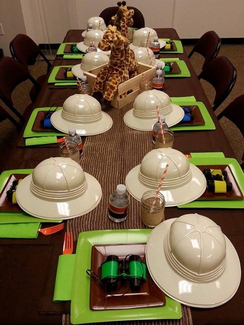 safari party decor