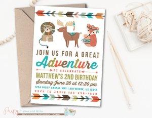 Adventure birthday