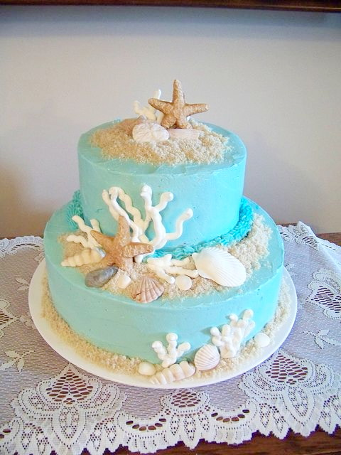 top-16-beach-theme-party-wedding-cakes-beauty-unique-ceremony-day-idea-3