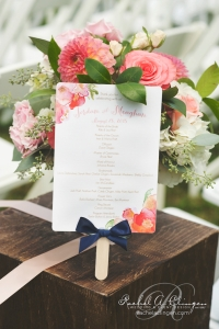 Country-Wedding-Coral-Programs