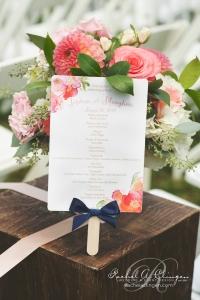Country-Wedding-Coral-Programs