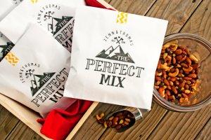 trail mix favor bag