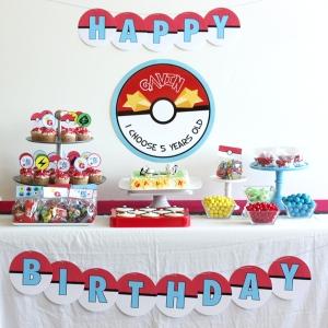 pokemon birthday party