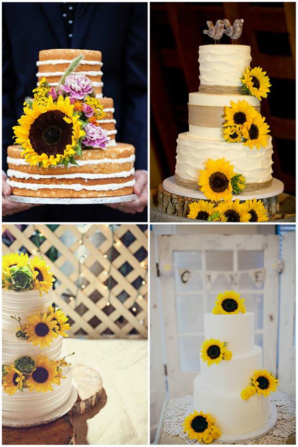 wedding-cake-ideas-with-sunflower-details