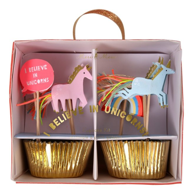 unicorn cupcake kit