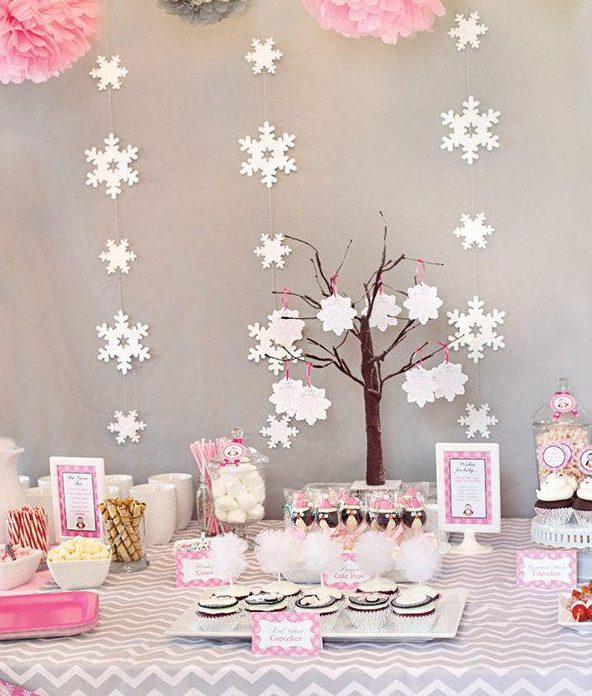 pink-and-grey-winter-dessert-table