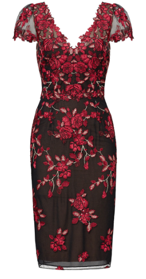 red-floral