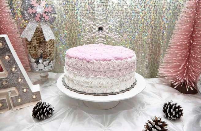 snowflake-cake
